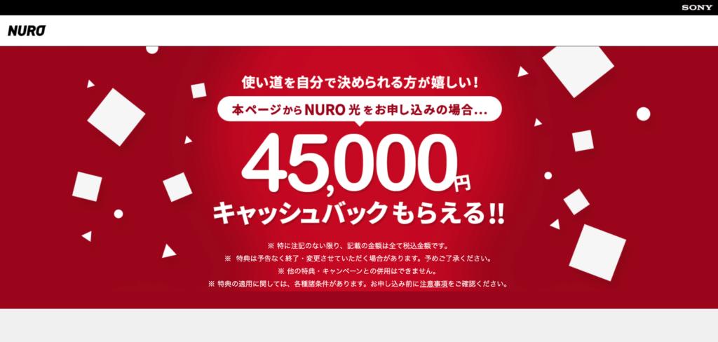 NURO光 特設サイトからPS5月額オプション申し込み可能