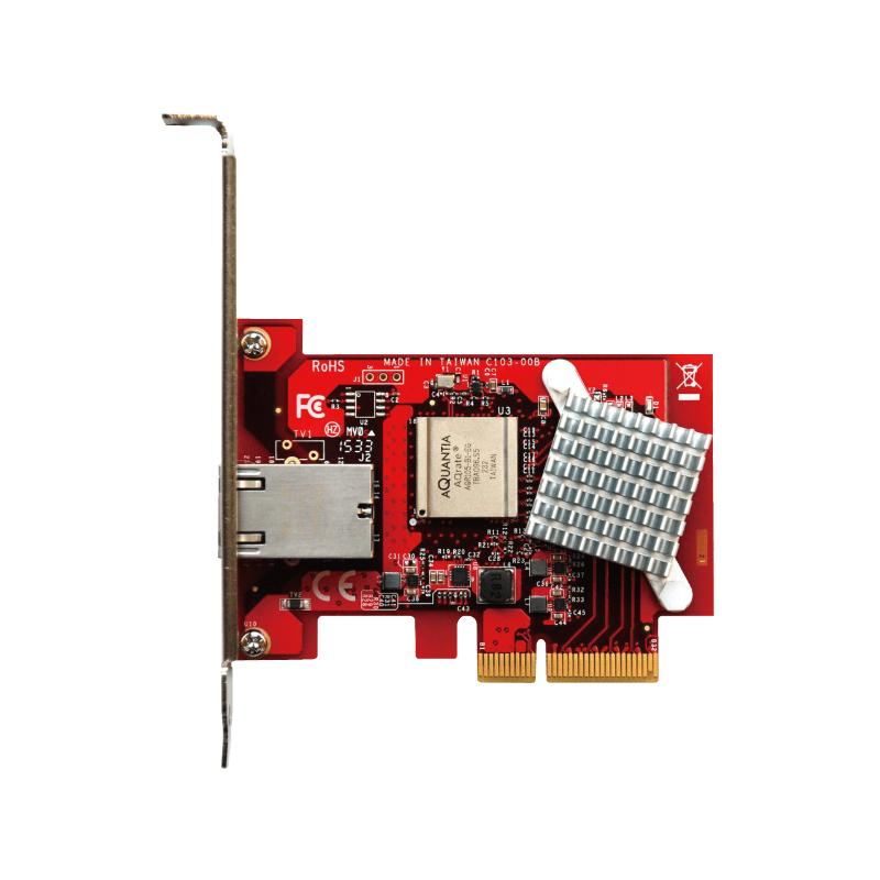 玄人志向の10Gbps対応LANボード