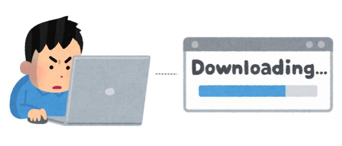 大容量ダウンロードを繰り返すユーザーが回線を占有