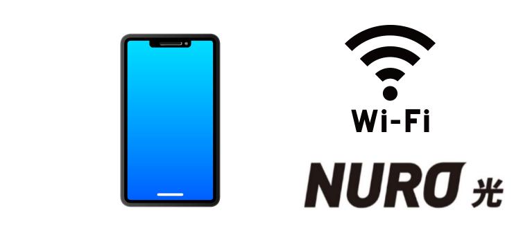 NURO光 スマホ利用の高速化効果